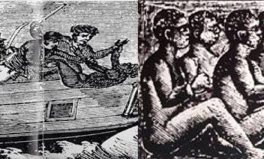 29 novembre 1781. Le capitaine #Collingwood noie 122 de ses #esclaves pour toucher l'assurance-décès