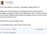 Thierry Robert...favori des sondages...il est inéligible