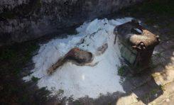 Un #cadavre suspect dans les ruines du théâtre de Saint-Pierre en #Martinique