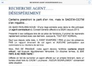 Emploi fictif au Conseil général de la #Martinique ?
