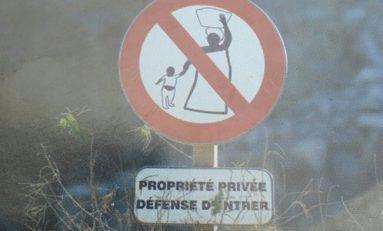 #Mayotte...propriété privée défense d'entrer