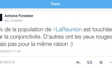 Le tweet du jour (13/03/15) #lareunion