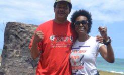 Joëlle #Ursull et Élie #Domota personnages de l'année 2015 en #Guadeloupe