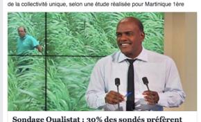 Serge #Letchimy grand favori d'un sondage pour mener la collectivité unique en #Martinique...qu'en pensez- vous  ?