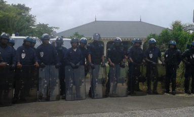 Intervention musclée de la #police à la #fourrière en #Martinique