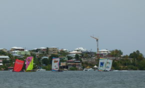 Festival Yole Martinique à Sainte-Anne aujourd'hui