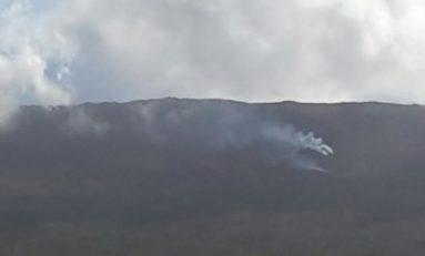Eruption du Piton de la Fournaise...trois coulées de lave au sud-est