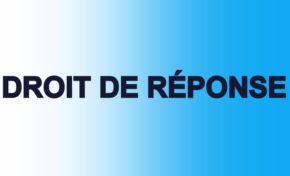 Droit de réponse demandé à RCI par l'Espace Sud suite au reportage de JM Pulvar diffusé le 11 Juin à 7 heures