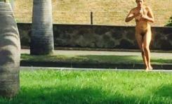 faire son jogging nu à l'île de La Réunion...c'est possible