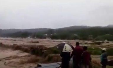 Erika dévaste L'île de la Dominique