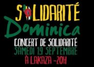 Concert Solidarité Dominica en Guadeloupe