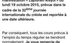 L'association Tous Créoles s'enrhume à 24 heures d'une énième arnaque intellectuelle