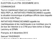 CTM : Initiatives Franciscaines dit non à Serge Letchimy et à EPMN