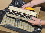 La douane saisit à La Réunion près de 10 tonnes de cigarettes de contrebande dans un conteneur chargé de serviettes en papier