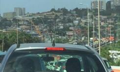 Martinique : les pompiers sont verts...Les automobilistes sont dans le rouge