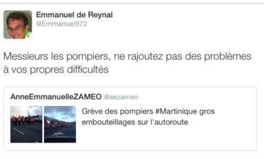 Le conseil de Super Manu aux pompiers de Martinique