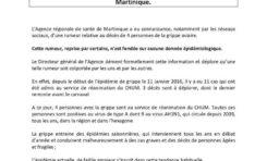 Grippe aviaire en Martinique : l'ARS tente de noyer le poisson déguisé en poison