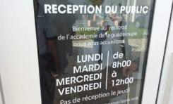 Réforme de l'orthographe : le rectorat de l'académie de Guadeloupe fait un sans faute
