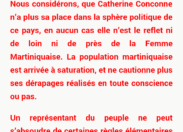 Catherine Conconne peut-elle faire exploser le PPM ?