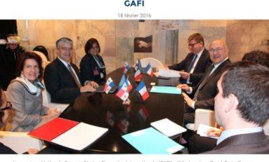 18 Février. 2016. Paris signe la réhabilitation du Panama.