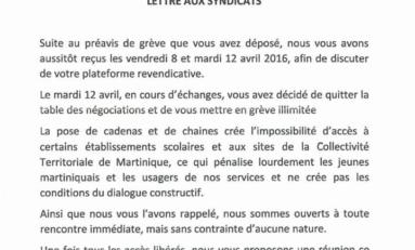 Grève à la Collectivité Territoriale de Martinique : Alfred Marie Jeanne reçoit les syndicats au deuxième jour du conflit