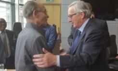 Allocution  d'Alfred Marie-Jeanne à la Commission européenne