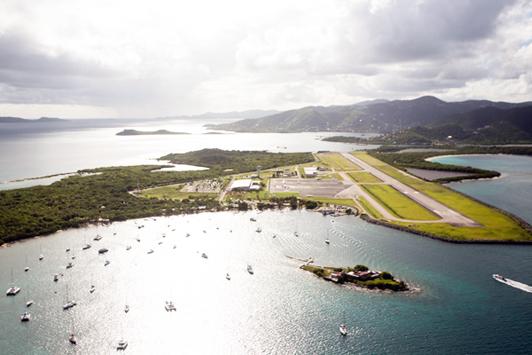 Menace d'attentat aux Iles Vierges Britanniques