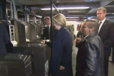En terre inconnue : Hillary Clinton prend le métro + Top 3 français