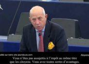 """""""La Commission Européenne ne paie pas d'impôts"""" (Vidéo)"""