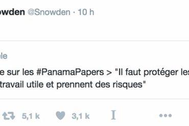 Snowden ce troll...