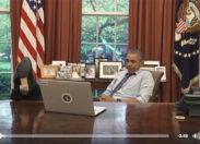 Obama veut s'incruster à la Maison Blanche (vidéo)