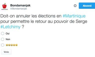 Sondage : Doit-on annuler les élections pour permettre le retour au pouvoir de Serge Letchimy ?