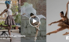Black ballerinas (video)
