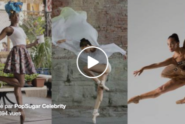 Black ballerinas (video)