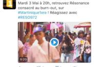 Télé Martinique Première met le burn-out à la une et c'est David Sévétian qui va être content