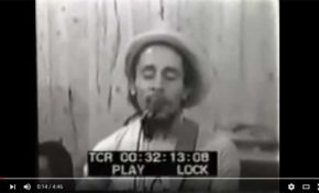 Bob Marley vidéo rare. Pimper's Paradise.