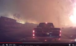 Canada : évacuation d'une ville. (vidéo)