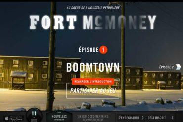Fort McMoney : le pétrole suicidaire (jeu / documentaire)