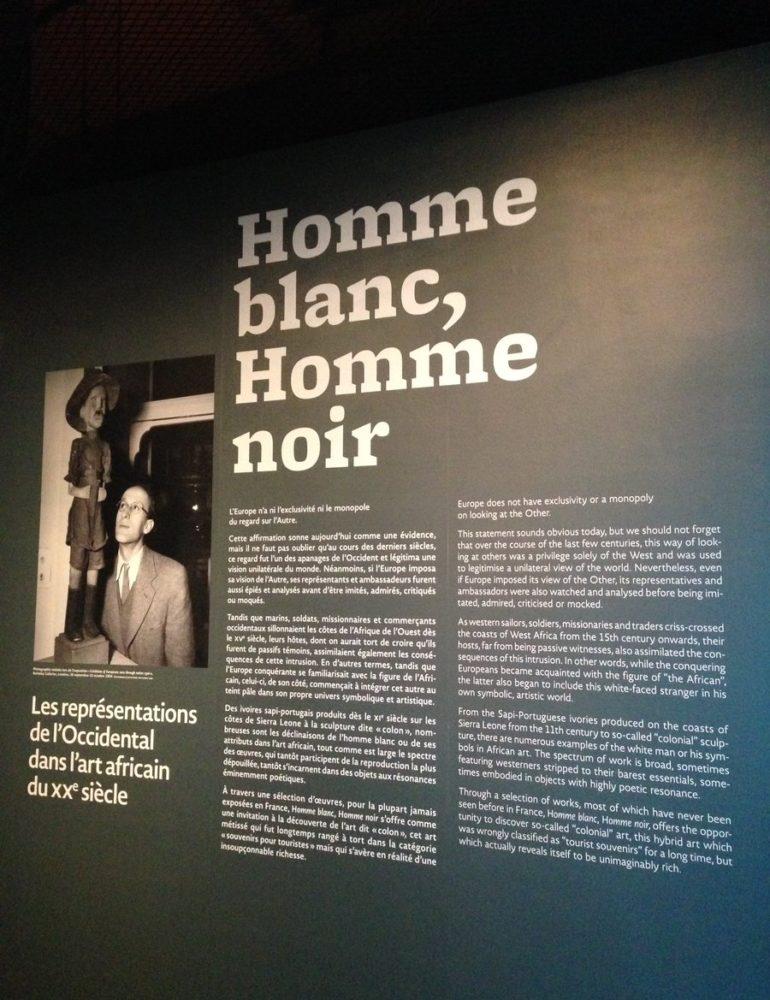 «Homme blanc et Homme noir», le regard des Africains sur les Européens. (Expo)