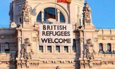 Les réfugiés anglais bienvenus en ... Espagne :-)