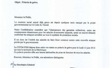 Grèves à tous les étages en Martinique