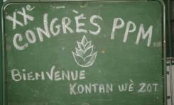 Le kakémono du jour [25/06/16] Congrès du PPM en Martinique