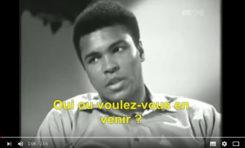Ali : le choc des mots (vidéo)