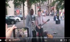 Seal en duo à Montréal, dans la rue. (vidéo)