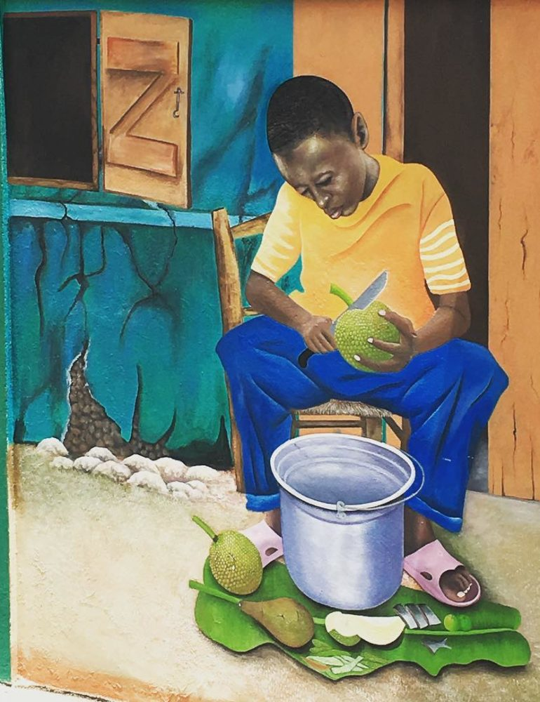 Street art en Haïti.