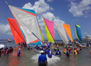 La Coupe de Martinique des Yoles-Rondes à UFR/Chanflor