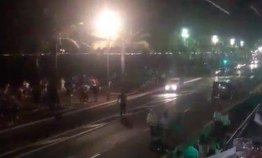Le camion a roulé pendant 100 m sur la foule.