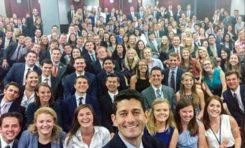 USA : Paul Ryan, vous présente tous ses stagiaires... oh wait !