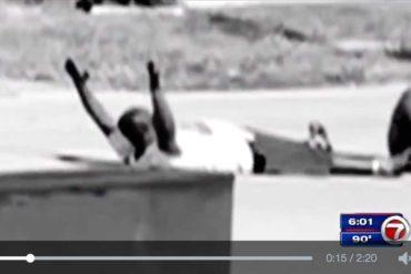 Miami : la police tire sur un infirmier, sans arme, les mains en l'air... (video)
