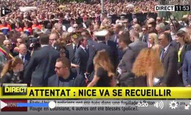Valls hué à Nice... (vidéo)